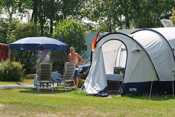 Campingplatz Zelt